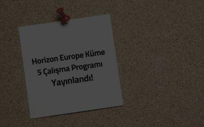 horizon europe küme 5 çalışma programı pmo partners